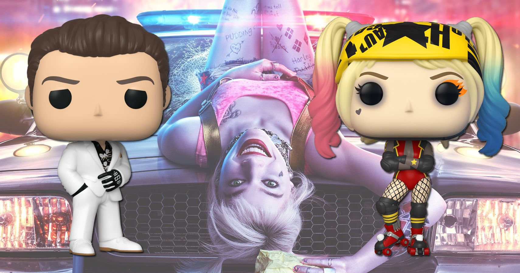 Birds Of Prey And The Funko Pops Of One Harley Quinn