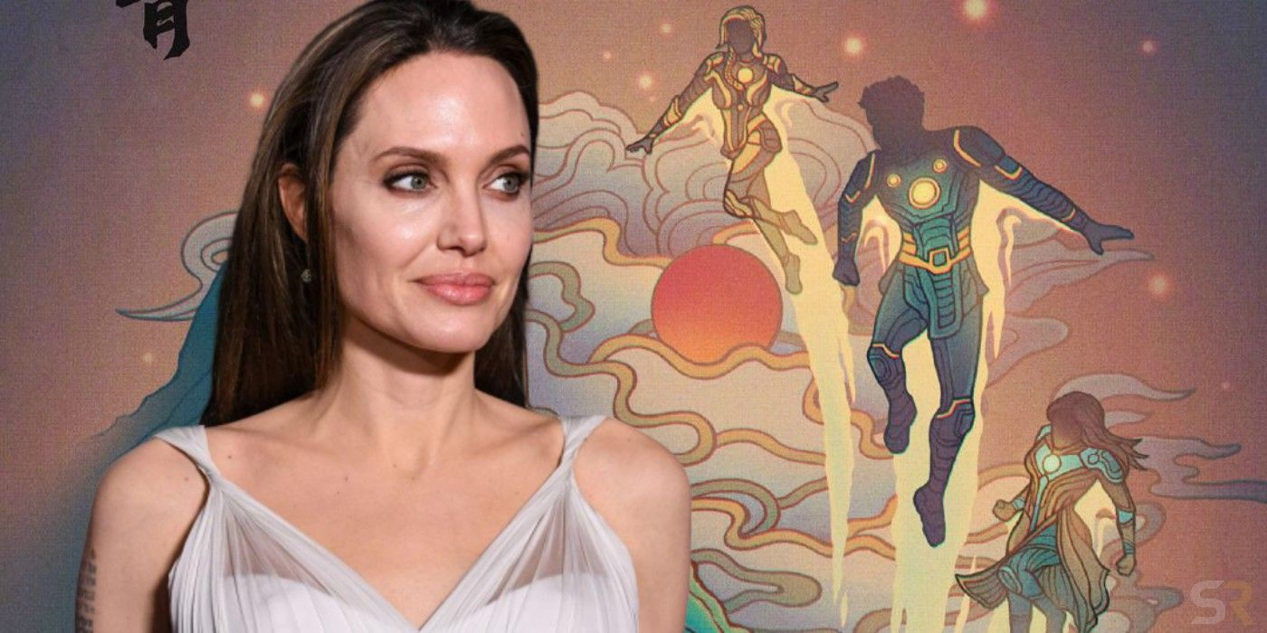 Angelina Jolie Joined Eternals Because ...