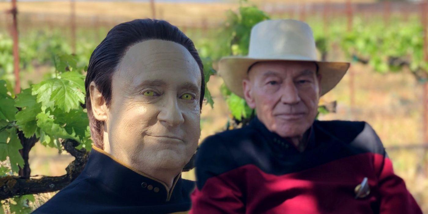Star Trek: Picard & Data Actors Reunite In Set Photo From New Series