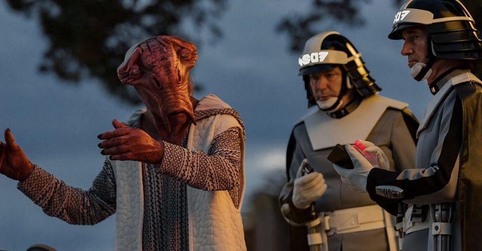 6. Joseph Gordon-Levitt as Slowen Lo in The Last Jedi.