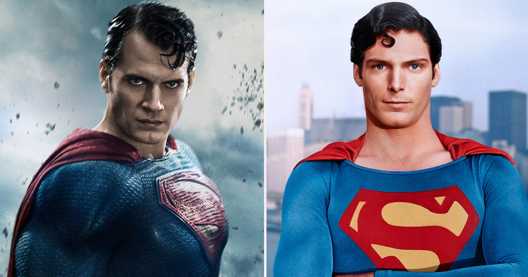 Versions of Superman's suit