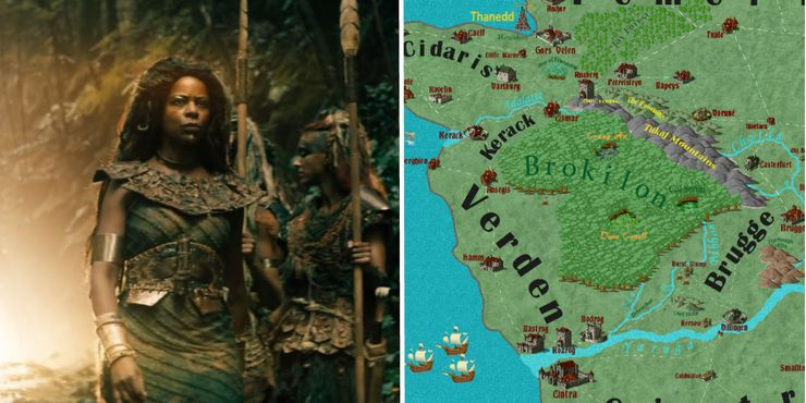 The Witcher\'s World Map, Countries & Politics Explained