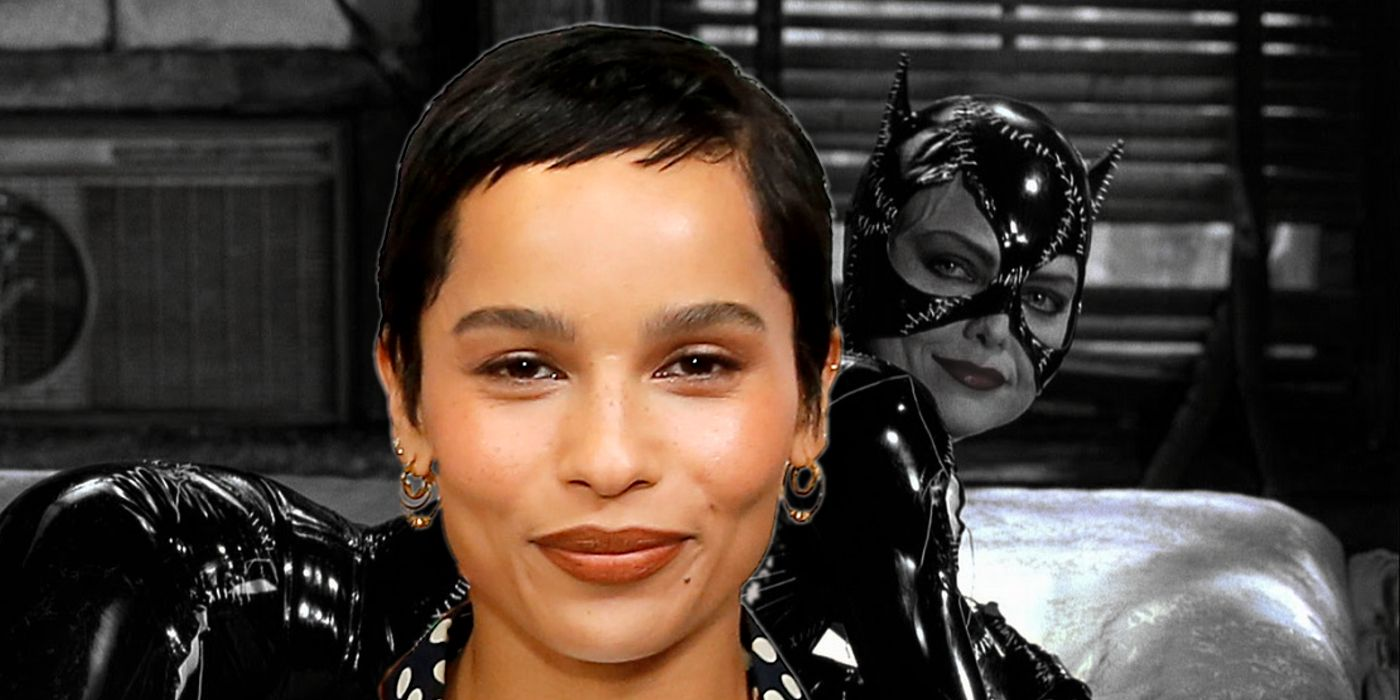 The Batman: Zoë Kravitz's Catwoman Inspired by Michelle Pfeiffer's Iconic Take