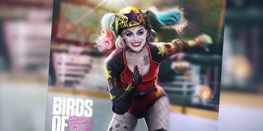 Early Harley Quinn Roller Derby Costume Design In Birds Of Prey Concept Art Flipboard