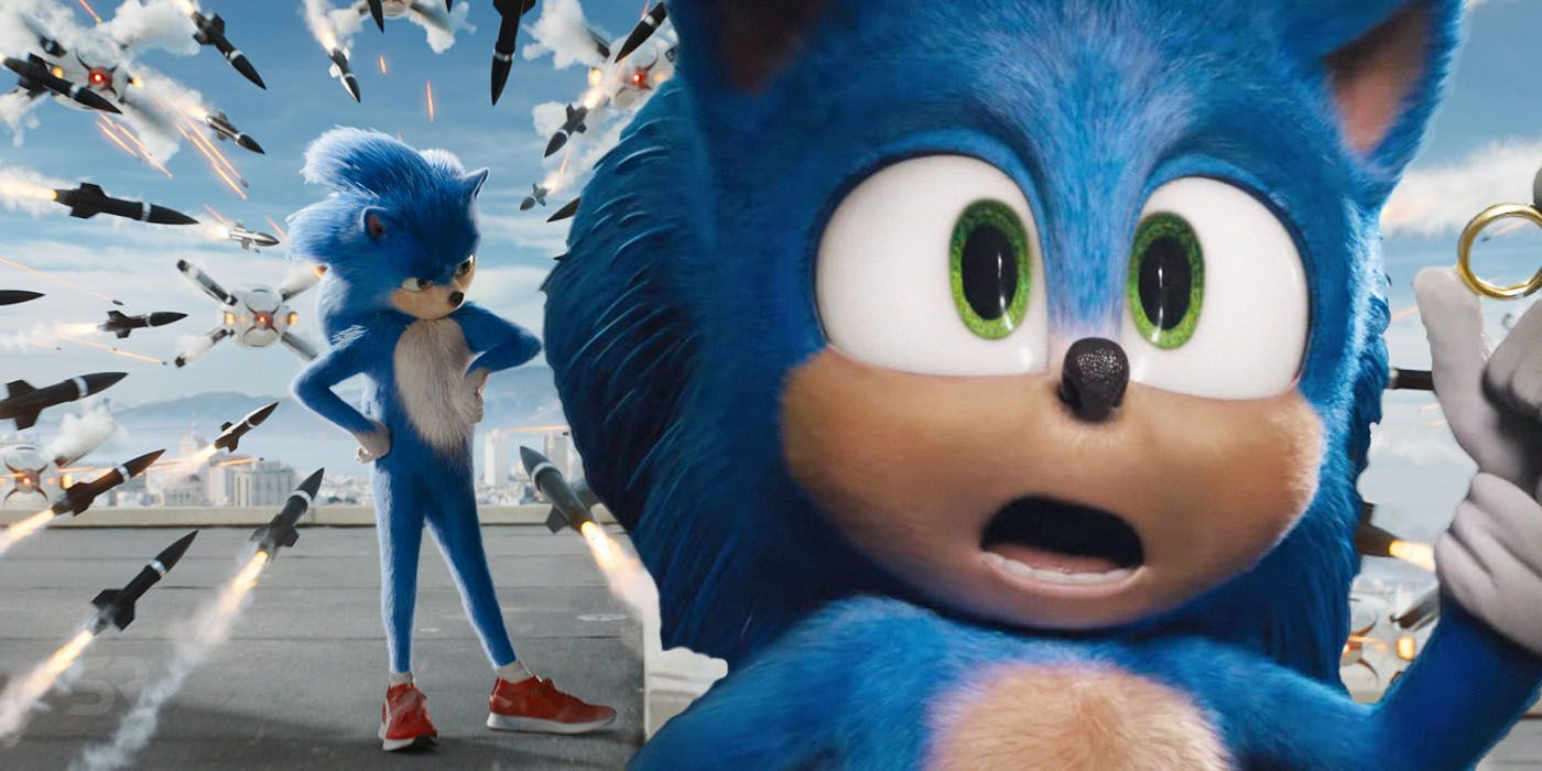 Sonic The Hedgehog Movie Honest Trailer Celebrates The Redesign