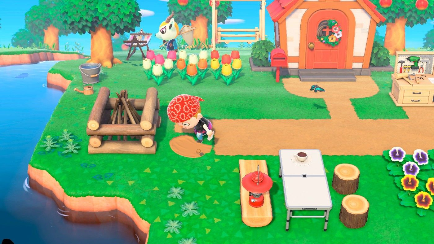 Exterior Home Ideas Animal Crossing - Home Decorating Ideas