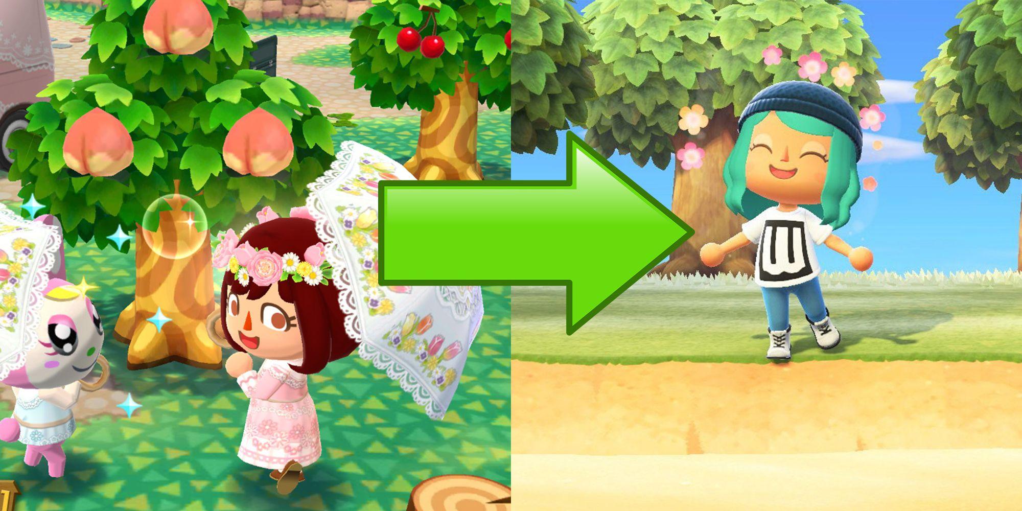 Animal Crossing: New Horizons Fall Update Brings