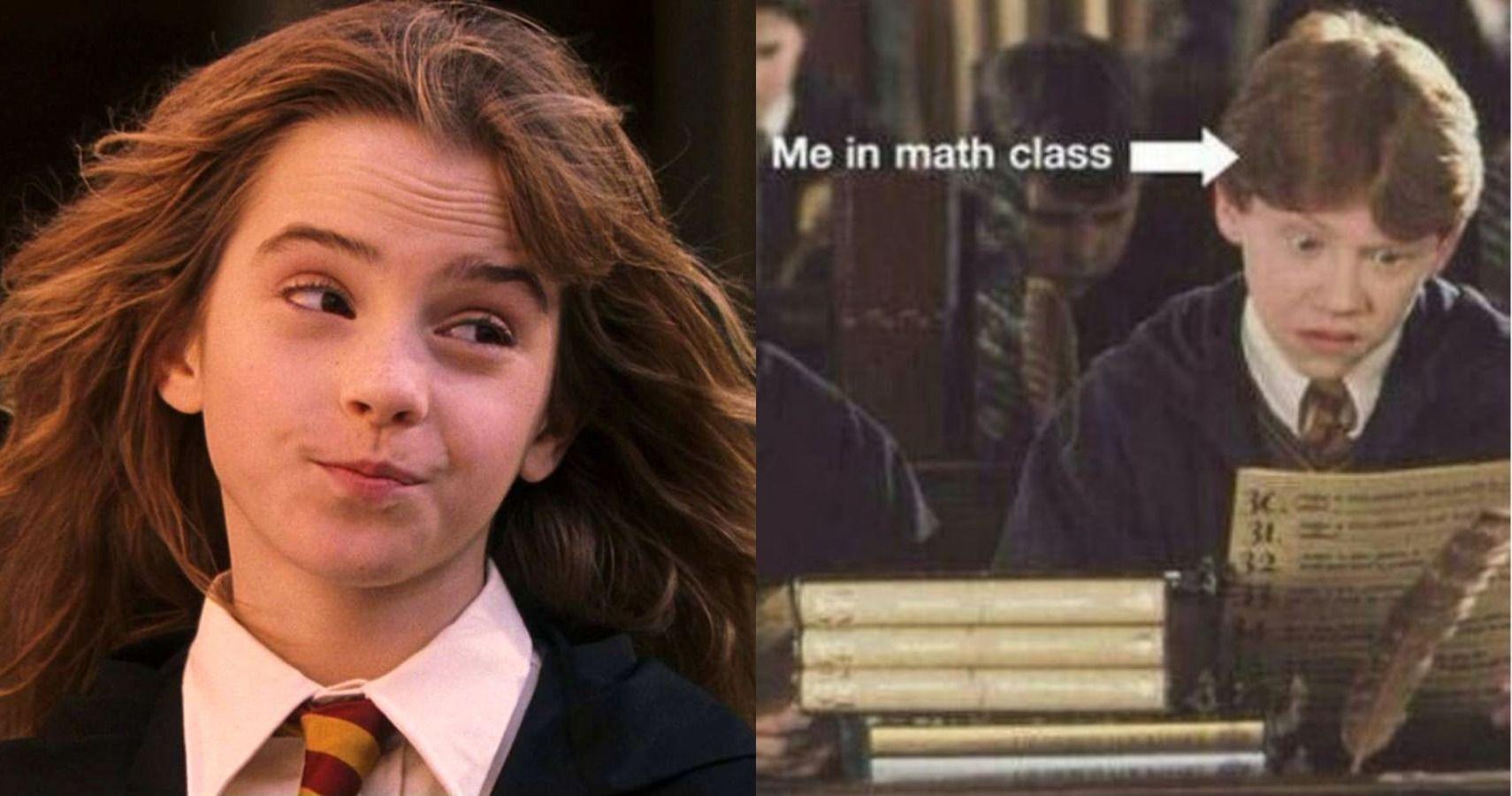 Ron and Hermione | Harry potter divertente  |Love Harry Potter Ron Meme