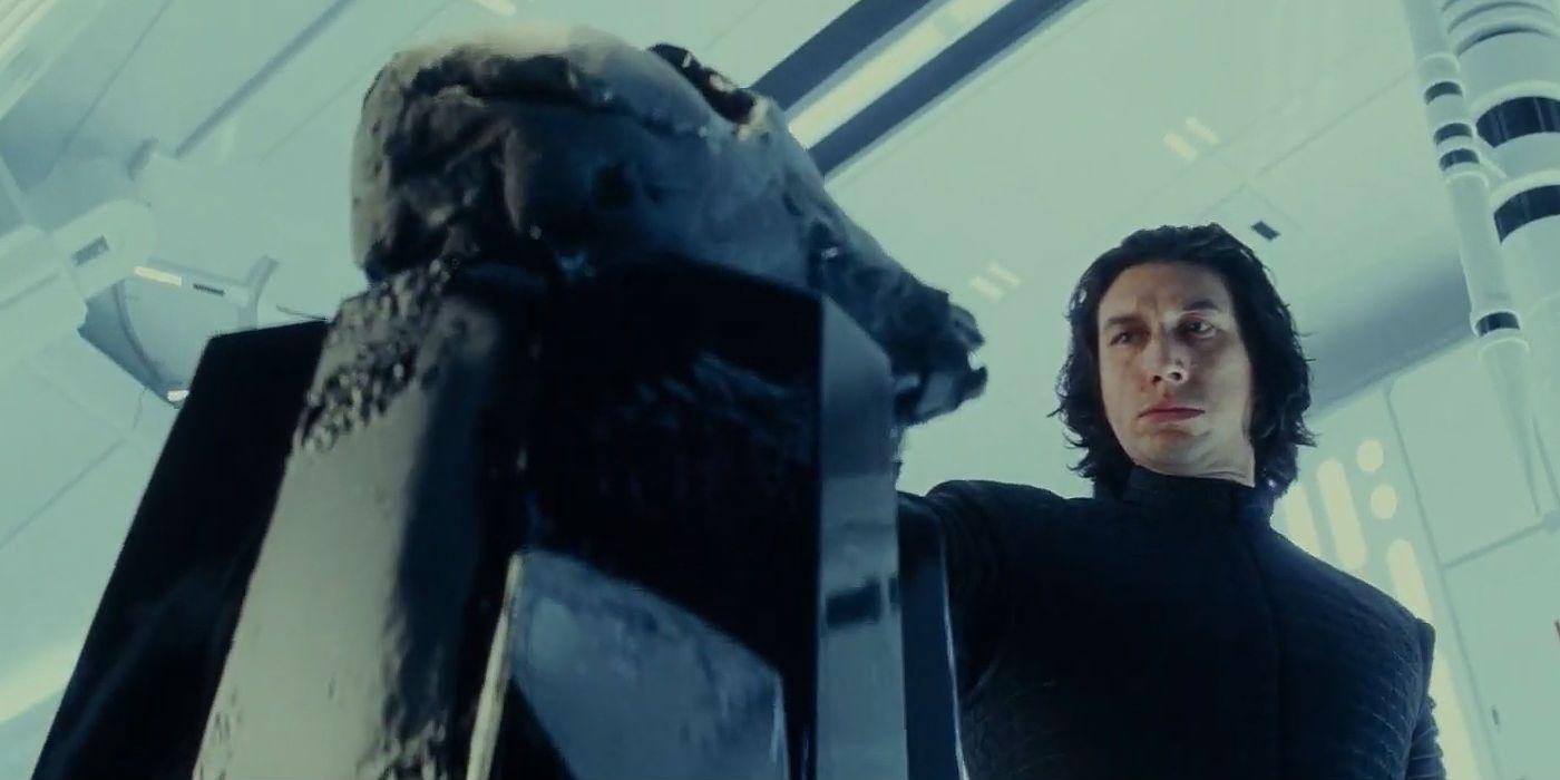 Star Wars Rise Of Skywalker Deleted Scene Featured Kylo Ren Vader S Mask