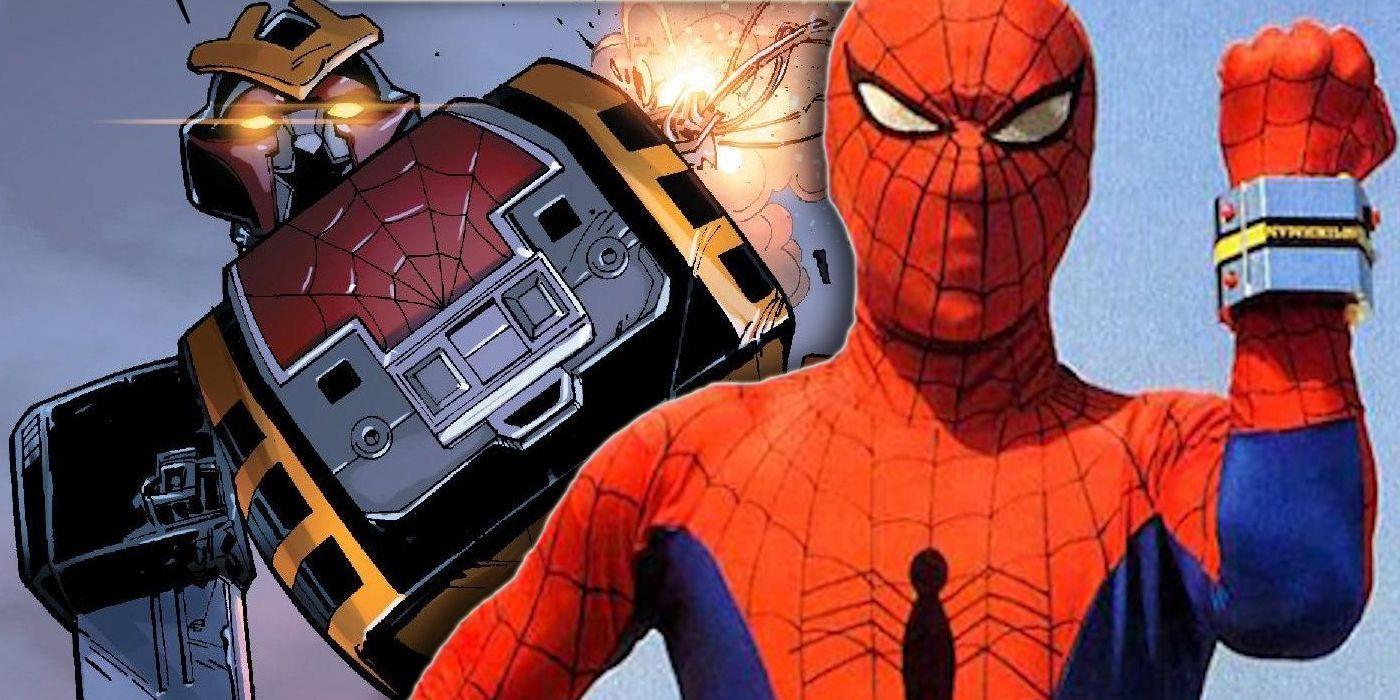 Spider-Man's Giant Japanese Robot Returns in SPIDER-VERSE