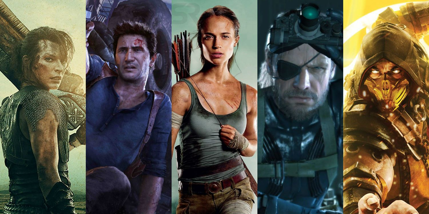 Every Upcoming Video Game Movie Screen Rant