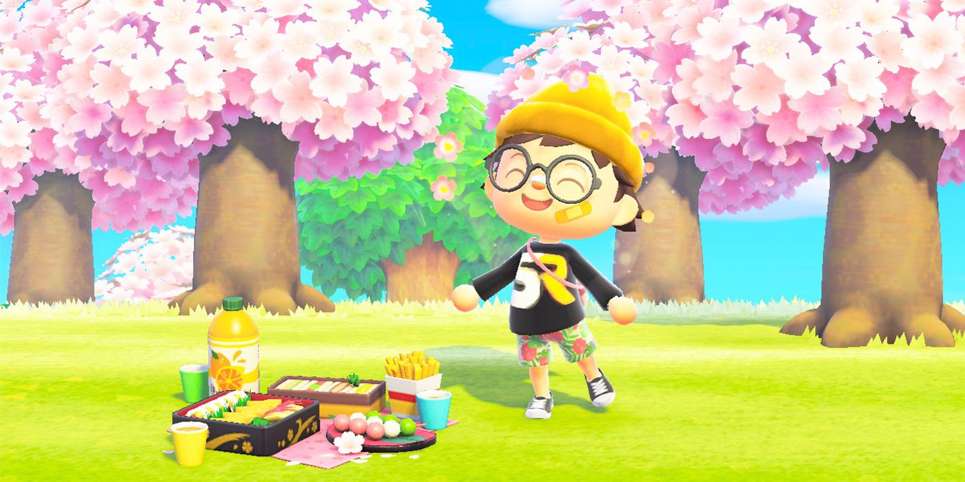 Animal Crossing New Horizons How To Get Cherry Blossom Petals What They Do