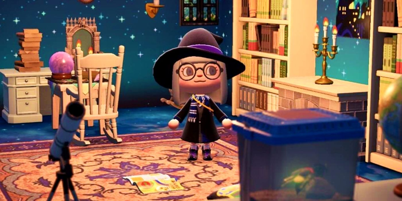 Animal Crossing Harry Potter Common Room Designs Are ... on Animal Crossing Room Ideas New Horizons  id=74078