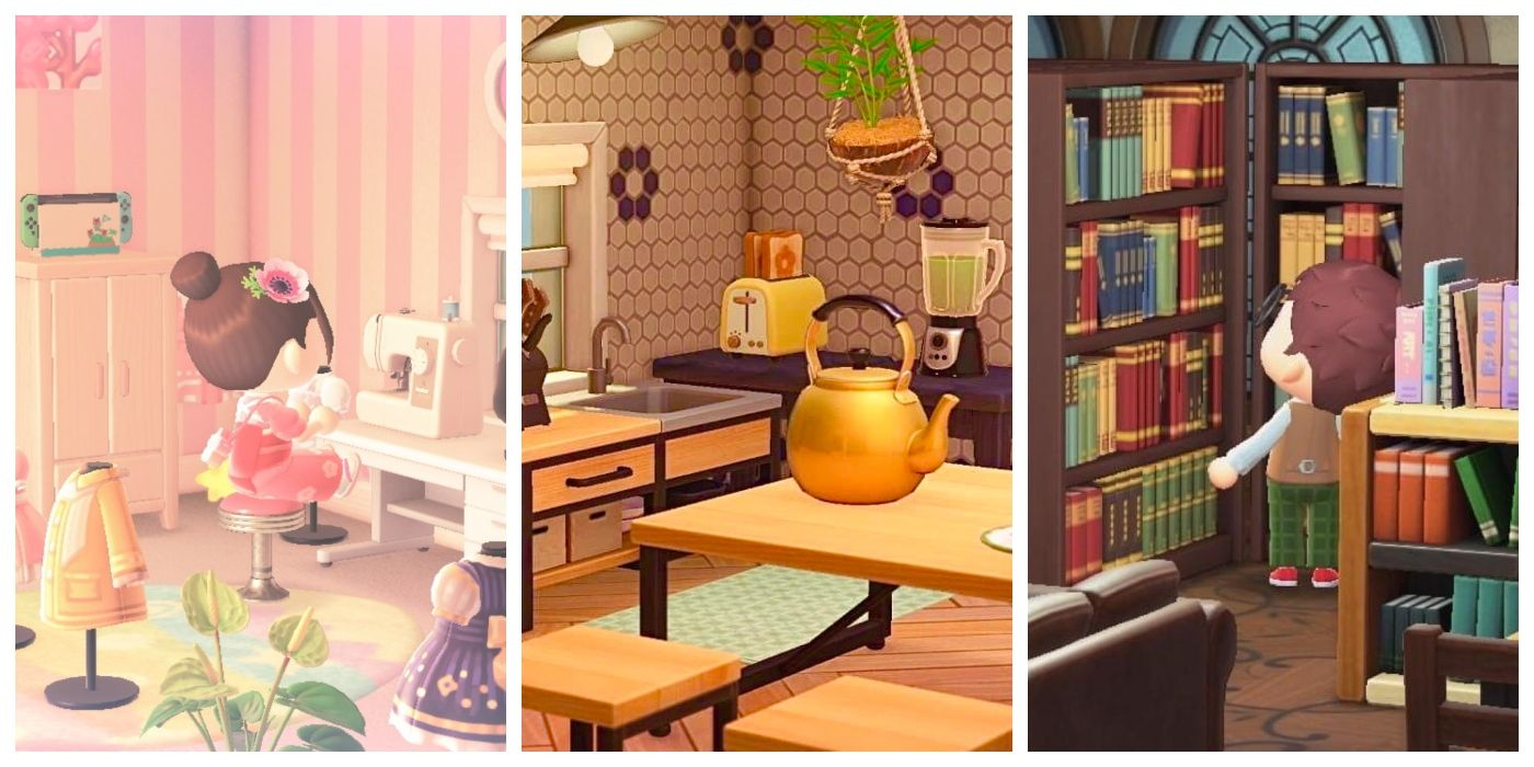 Animal Crossing: New Horizons' Best Room & House Design ... on Living Room Animal Crossing New Horizons  id=19796