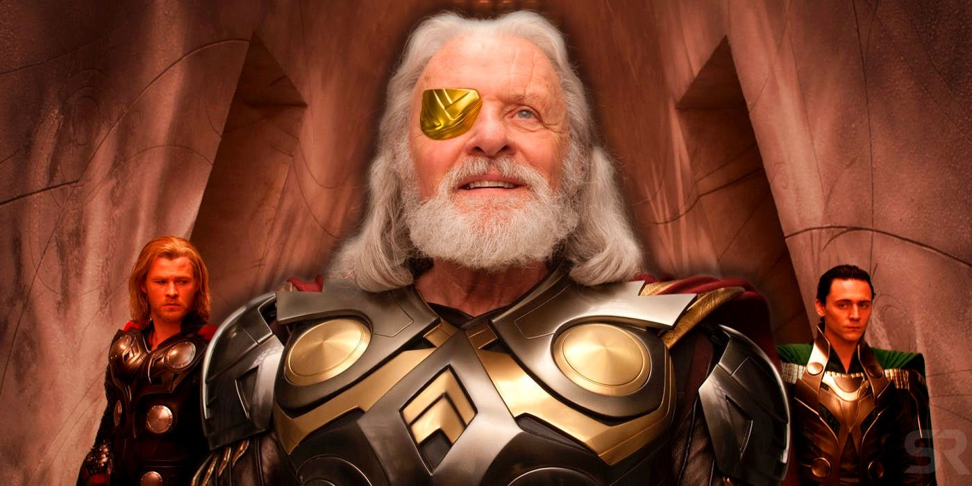 Thor How Odin Lost His Eye In The Mcu Screen Rant