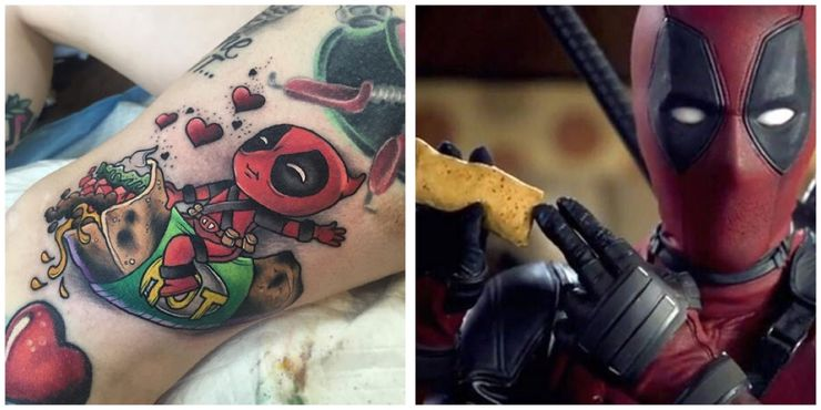 Deadpool 10 Tattoos Only Devoted Fans Will Understand