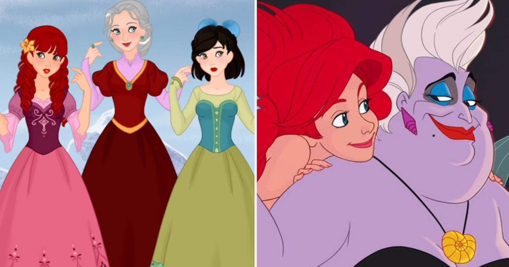 10 Disney Villains Reimagined As Heroes (Fan Art) | ScreenRant
