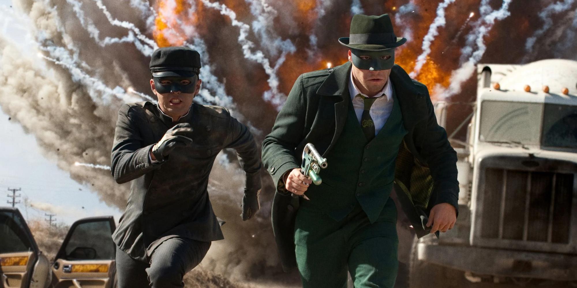 Green Hornet & Kato Movie Taps Jurassic Park Writer ...