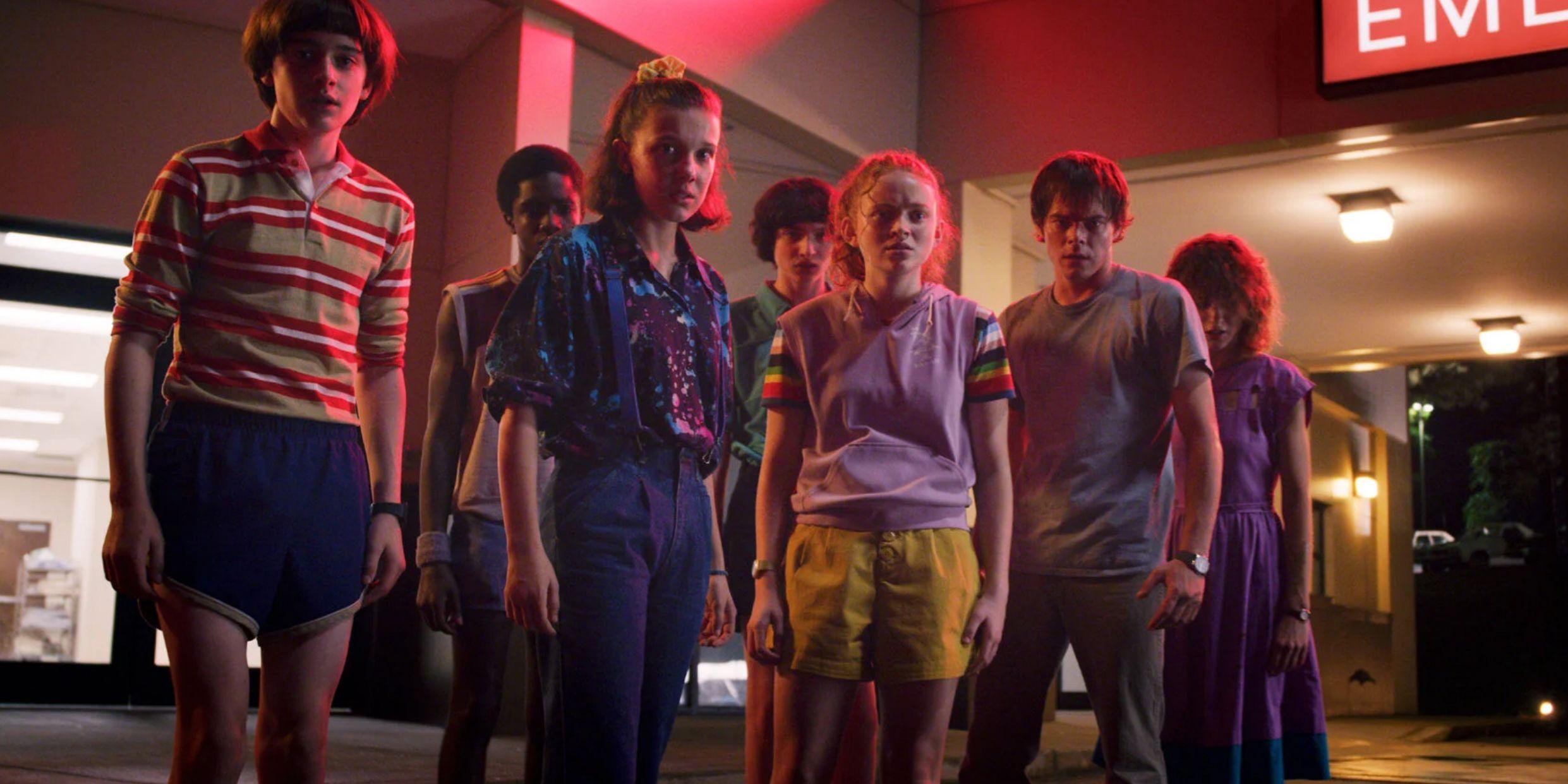 Stranger Things Season 4 Set Photos Show The Gang Back Together
