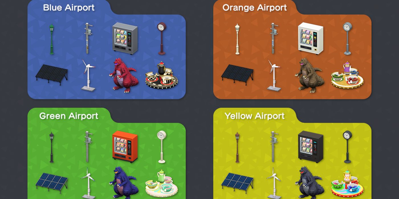 Animal Crossing: New Horizons Airports May Influence Item