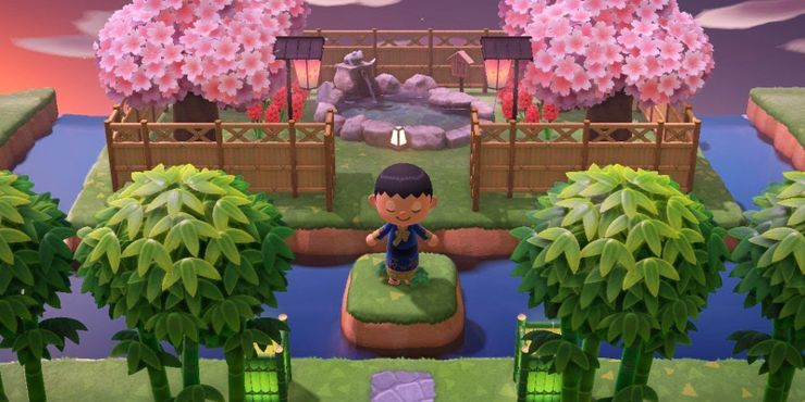 Animal Crossing New Horizons Island Entrance Design Tips