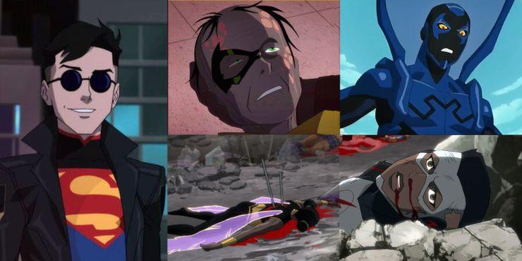 Justice League Dark All 32 Brutal Deaths In Apokolips War