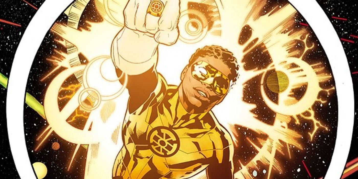 A GOLD Lantern Is Joining the DC Comics Universe | Screen Rant