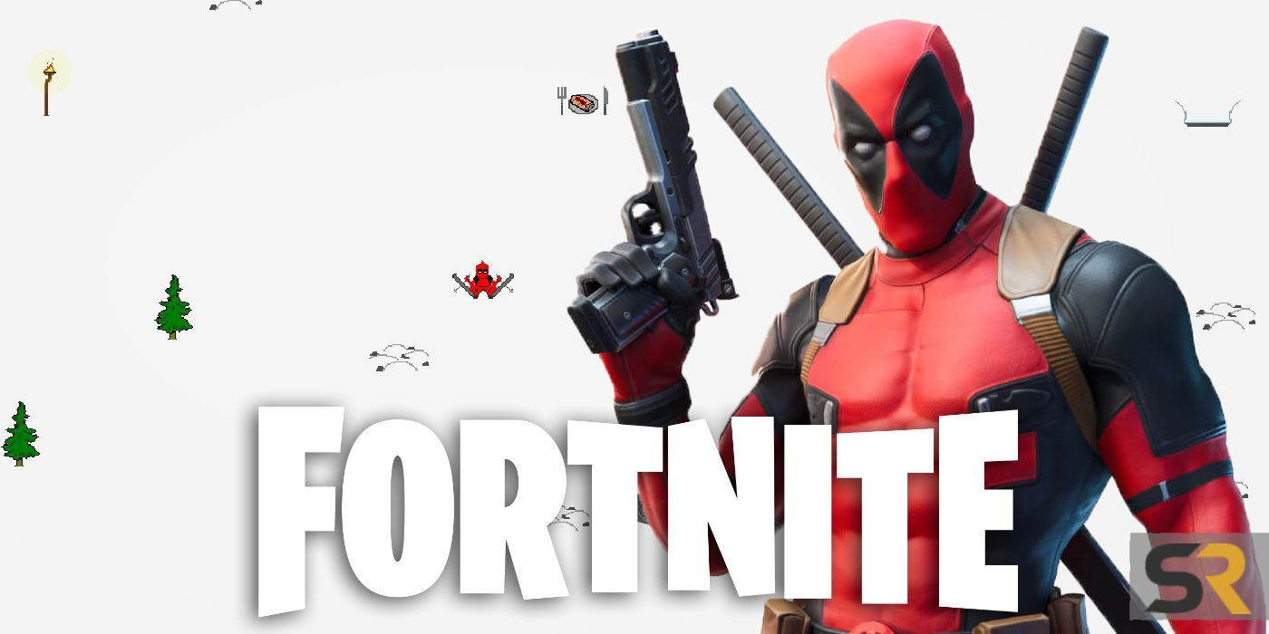Deadpool Fortnite Gameplay Fortnite Deadpool S Secret Hidden Mini Game Screen Rant