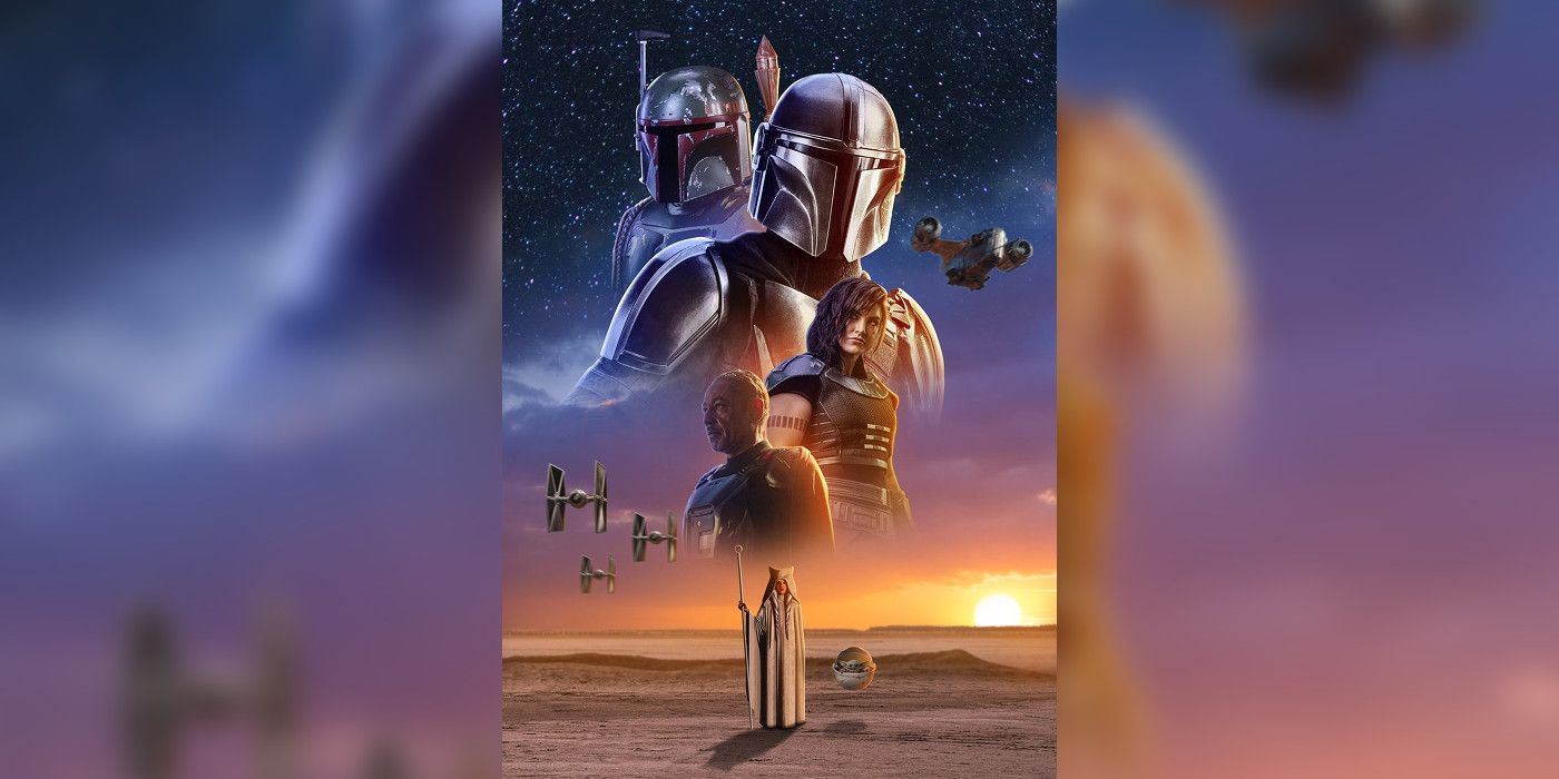 screenrant.comMandalorian, Baby Yoda, Boba Fett & Ahsoka Unite In Season 2 Fan Poster