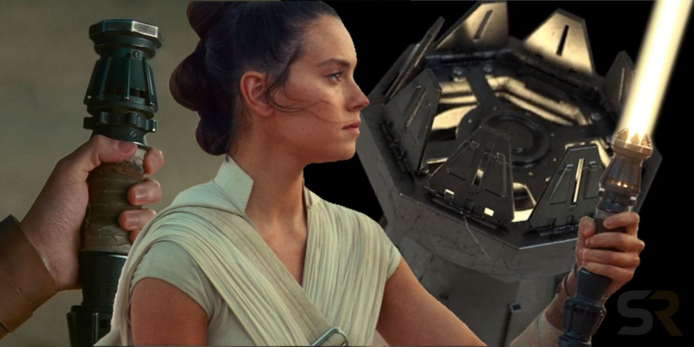 Star Wars How Rey S Yellow Lightsaber Opens Screen Rant