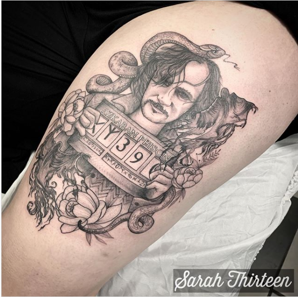 Tattoo sirius black wand Sirius Black