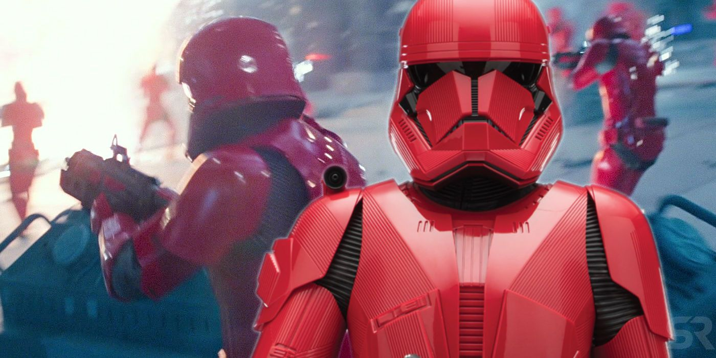 Rise of Skywalker's Different Red Sith Troopers Explained
