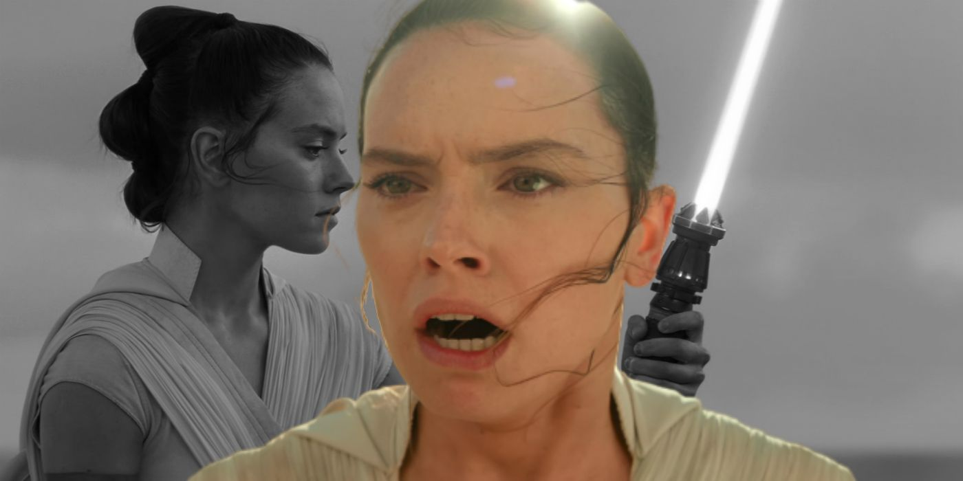 Rise of Skywalker Cut Entire Story Setting Up Rey's Yellow Lightsaber