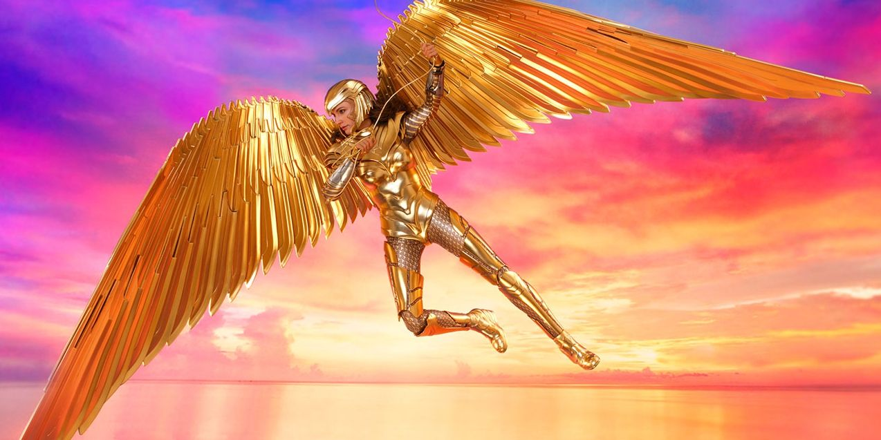 Wonder Woman 1984 Statue Gives 360 View of Diana's Golden Eagle Costume