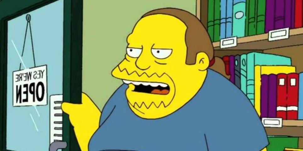 Os Simpsons: 10 coisas que você não sabia sobre o Cara Dos Quadrinhos 4