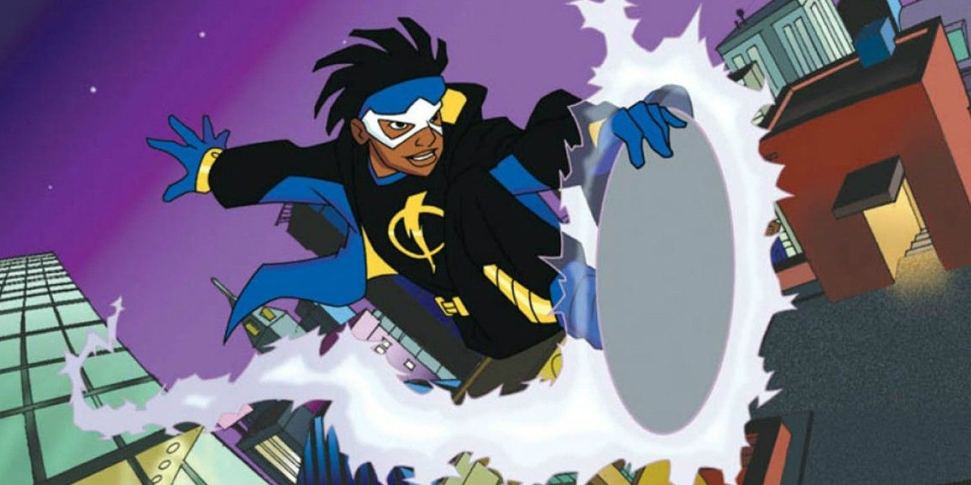 Unproduced Static Shock Animated Movie For DC Animation Revealed By Artist