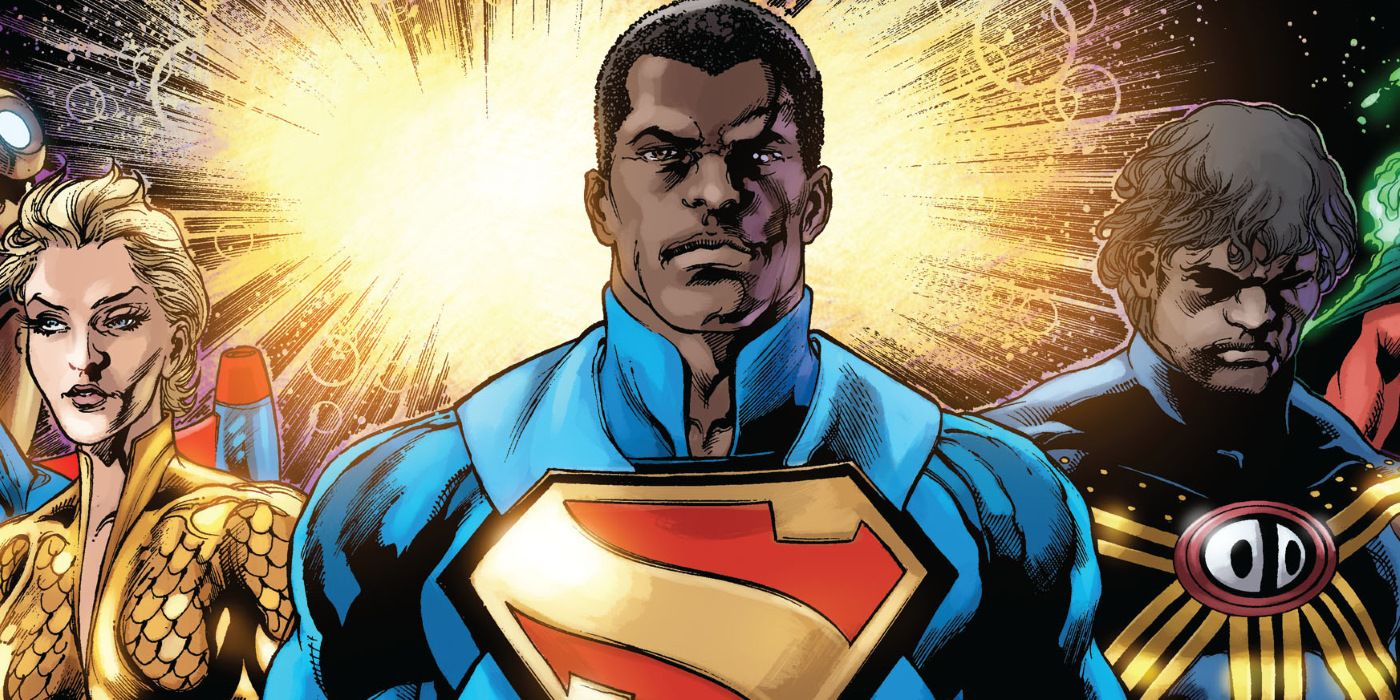 New Superman Movie Will Reportedly Introduce A Black Man of Steel