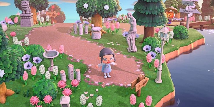 Custom Path Design Ideas Tips In Animal Crossing New Horizons