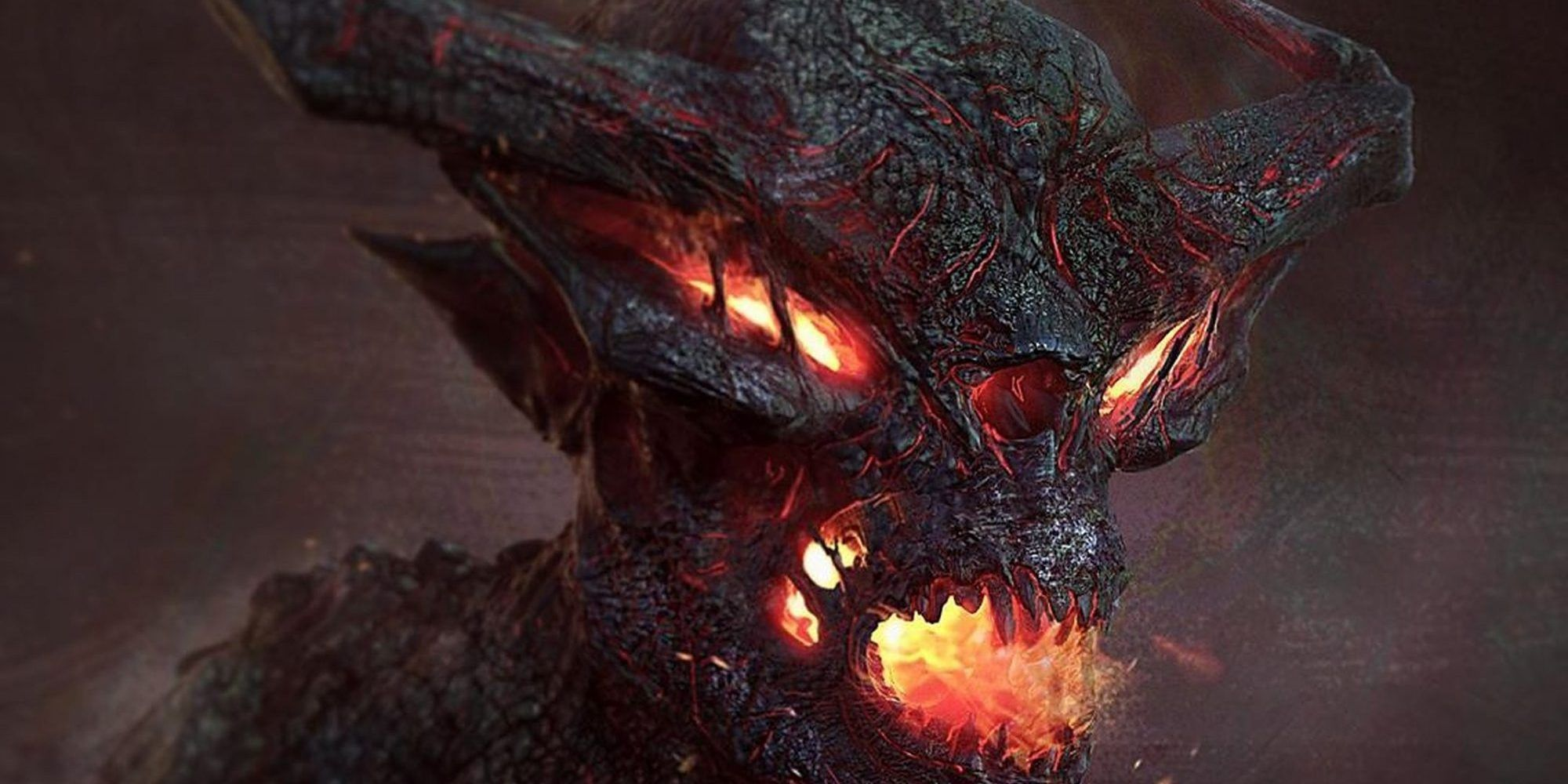 Thor: Ragnarok's Unused Fire Demon Concept Art is Pure Nightmare Fuel