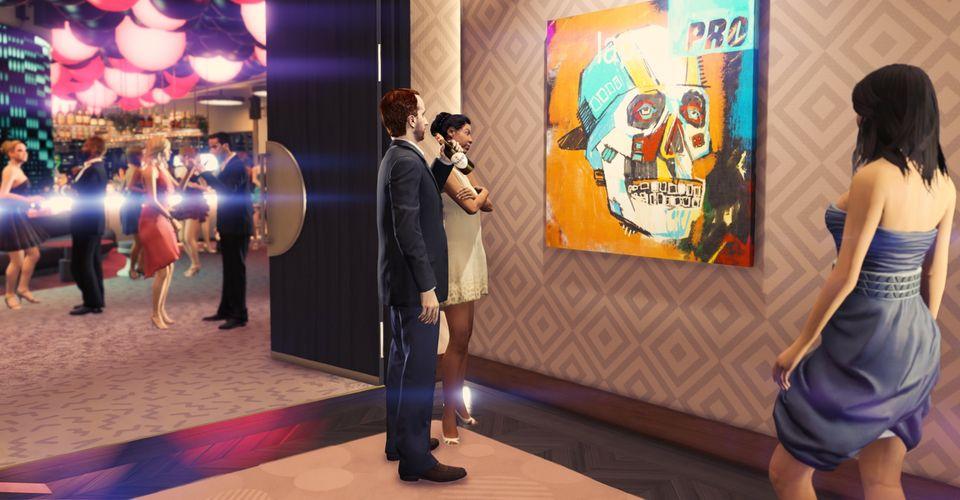 Gta Online Casino Heist Glitch Makes Robbing Artwork And Lockboxes