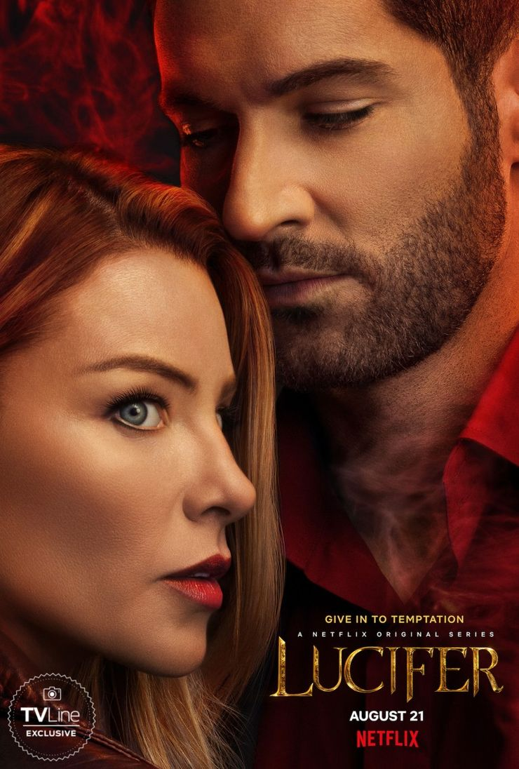 Lucifer Season 5 Poster Hints At Chloe S Budding Romance With The Devil