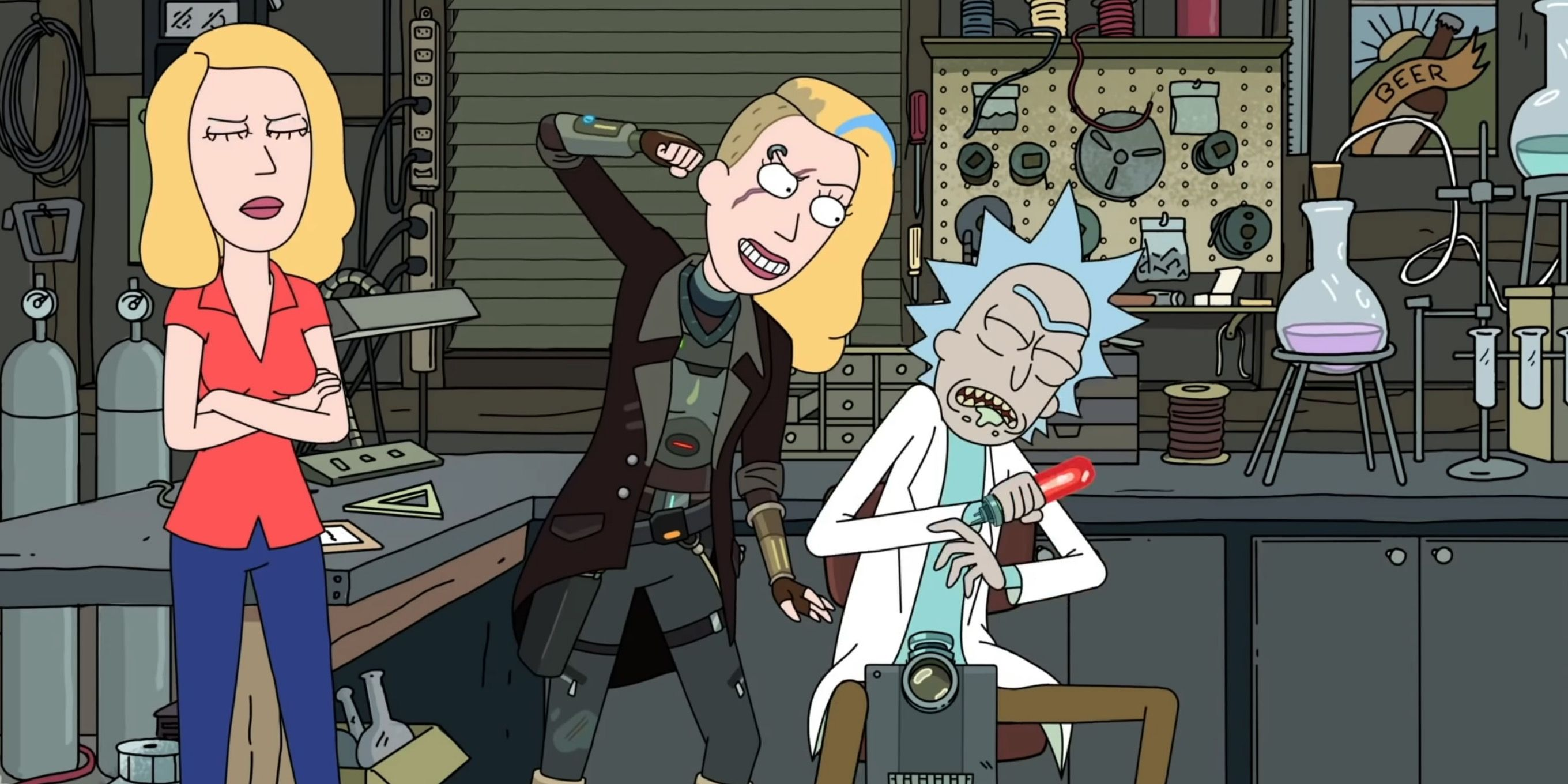 Rick & Morty Season 5 Features The Return of Space Beth