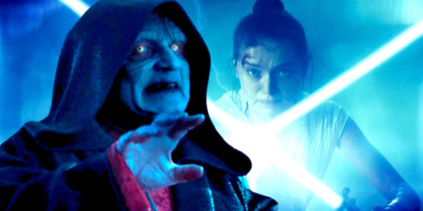 Star Wars Rey Palpatine Force Lightning