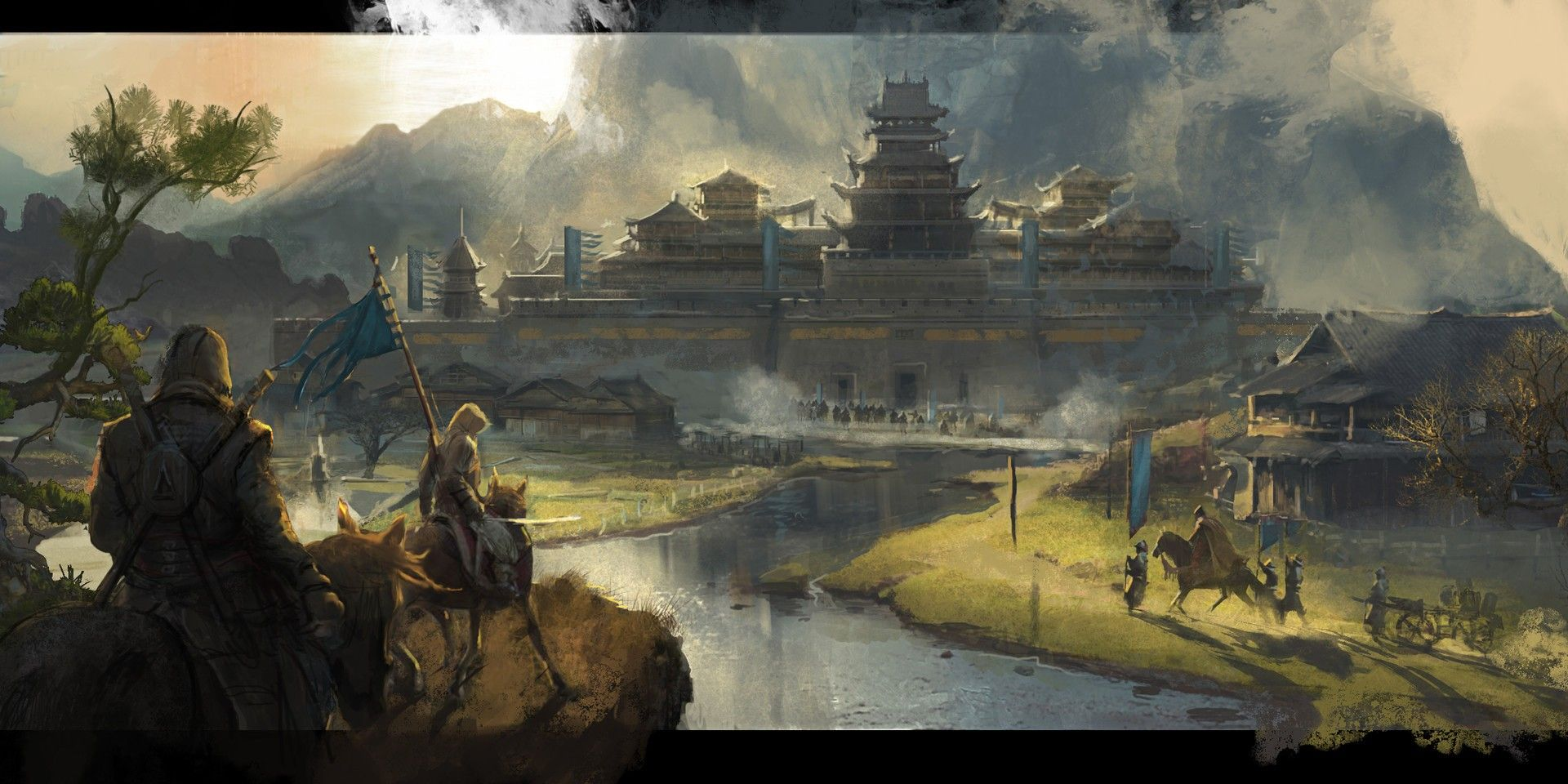 Assassin S Creed Set In China Surfaces In Gorgeous Ubisoft Concept Art