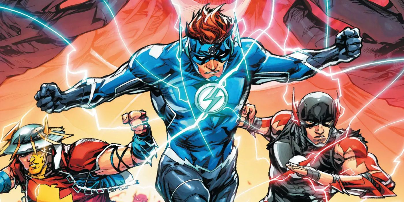 The Flash Family Races An Army Of Black Flashes Screen Rant Theflick