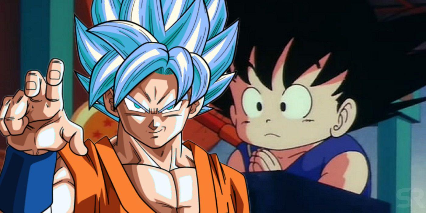 Dragon Ball How Old Goku Is In Each Saga Screen Rant