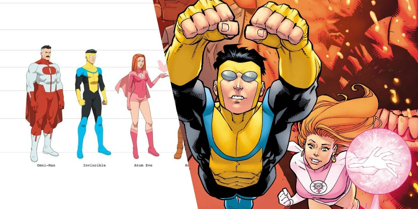 Amazon's Invincible TV Show Reveals Comic Accurate Character Designs