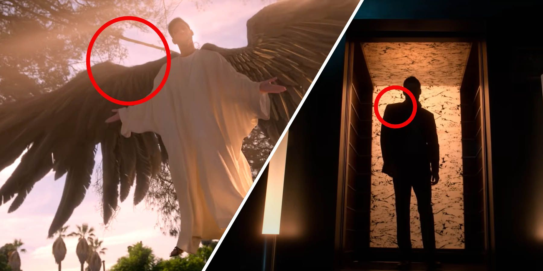 Lucifer Season 5 How Did Michael S Right Arm Get Injured Mimic News