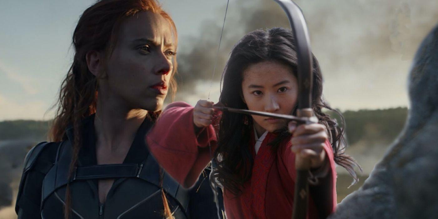 Disney Not Planning Black Widow VOD Release, Mulan A One-Off