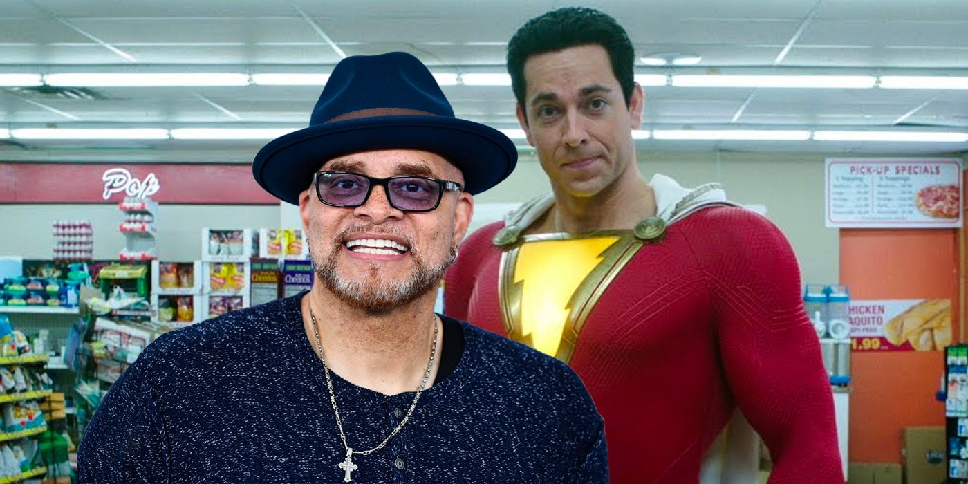 Shazam 2 Casts Sinbad In Brilliant Meta Joke | Screen Rant